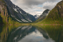 Landscape At Tracy Arm Fjords ...