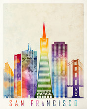San Francisco Landmarks Waterc...