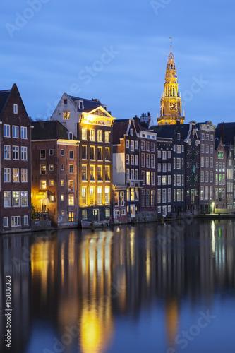 Photo  buildings in Amsterdam