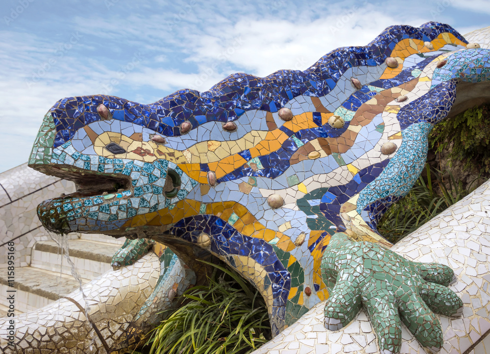 Sportcitaten : Poster foto lizard of gaudi koop op europosters.be
