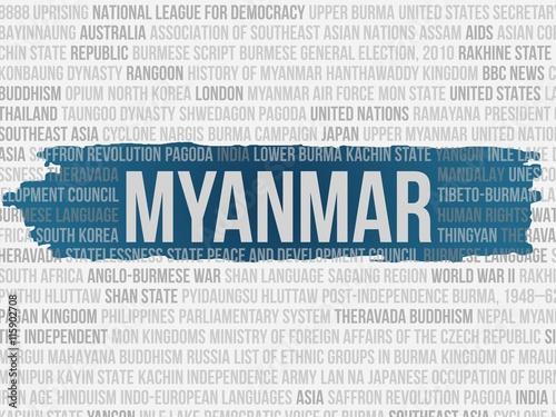 Fotografia, Obraz  Myanmar