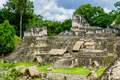 Poster Ruine Tikal ruins in Guatemala