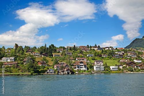 Fotobehang Landschap Lake Lucern