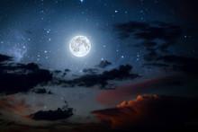 Backgrounds Night Sky