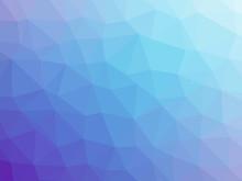 Purple Blue Gradient Polygon Shaped Background