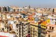 Valencia Old Town cityscape, Spain