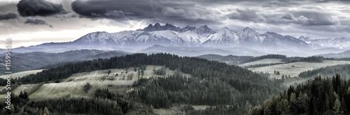 Fototapeta Panorama Tatry obraz