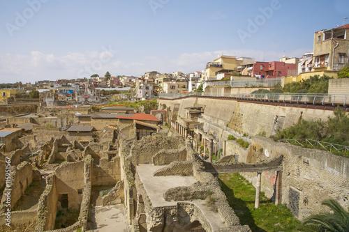 Poster Ruine Herculaneum