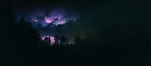 Landscape With Lightning At St...