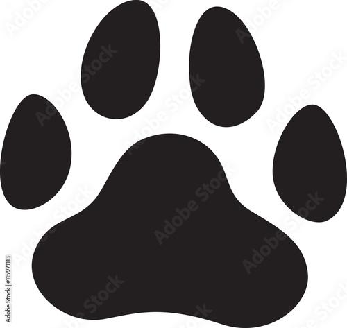 Obraz na plátně 犬 肉球