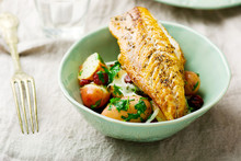 Fried Mackerel With Potatoes I...