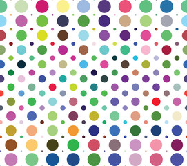 FototapetaSeamless background pattern with dots