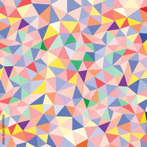 Fotobehang ZigZag Abstract polygon pattern