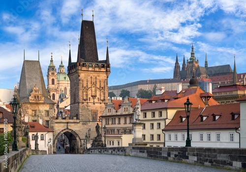 Poster Prague Prager Schloss und Altstadt
