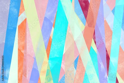 Line Shape Pattern Of Pastel Vintage Colorful Vertical Stripes Watercolor Wallpaper Background
