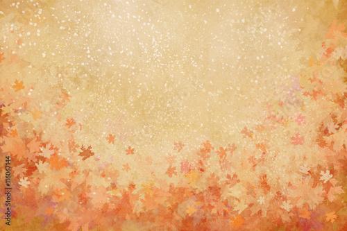 kolorowy liść jesieni tło z teksturą, ilustracyjny obraz