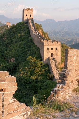 Great Wall of China, JinShanLing, Hebei, China Fototapeta