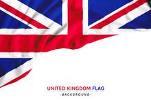 Flag Of UK Or United Kingdom, British