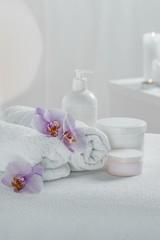 Obraz na płótnie Canvas Spa tools for relaxation