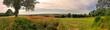 Panoramablick im Elsass Richtung Rheinebene