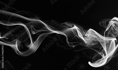 In de dag Rook abstarct smoke swirls
