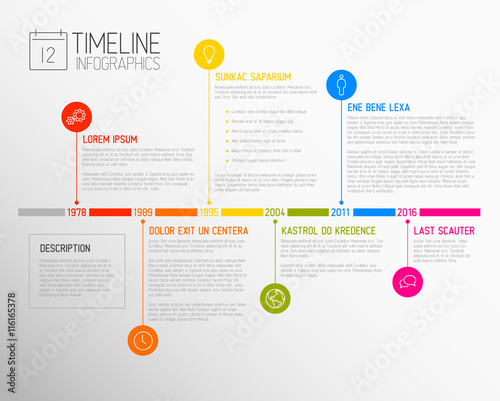 vector infographic timeline report template buy this stock vector and explore similar vectors. Black Bedroom Furniture Sets. Home Design Ideas