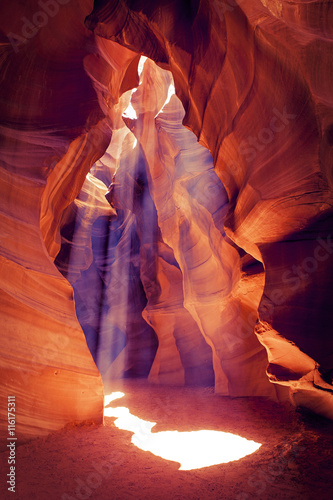 Keuken foto achterwand Rood traf. Upper Antelope Canyon, Navajo Nation (Arizona, USA)