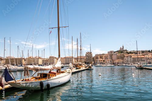 Photo Stands Ship Straßen von Marseille