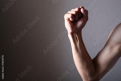 Fotografie, Obraz  男性の右腕