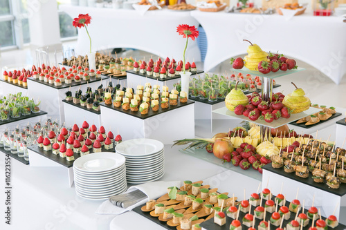 Fototapeta catering food obraz
