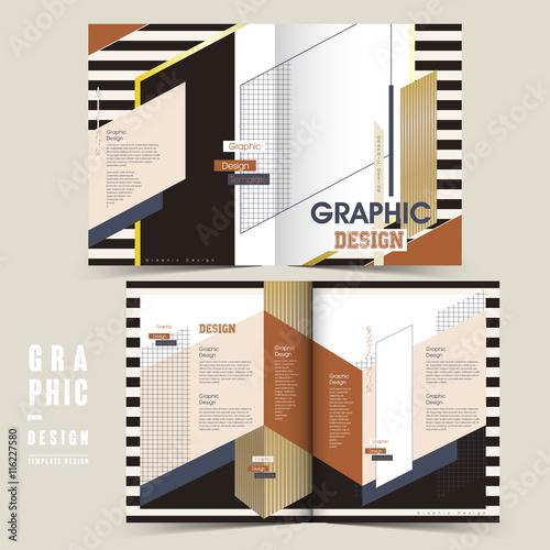 Photo  modern bi-fold brochure