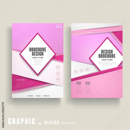 Photo  brochure template design