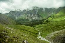 Summer Mountain Landscape In T...