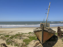 Boat In Punta Del Diablo, Urug...