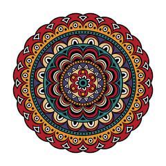 Panel Szklany Boho Mandala print
