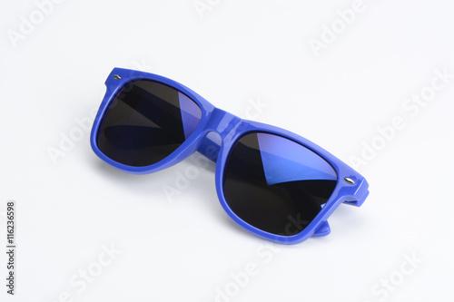 Gafas de sol de color azul