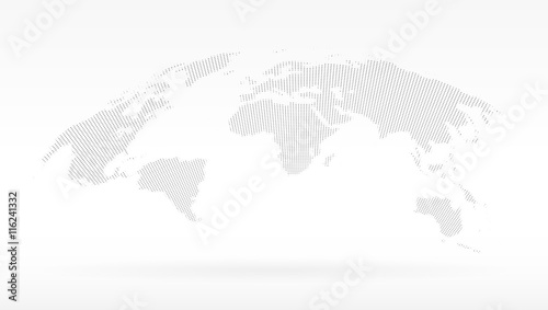 Simple black dots world map concept of infographics element trip simple black dots world map concept of infographics element trip around globalization gumiabroncs Images