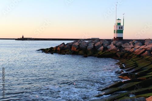Fotografie, Obraz  Sonnenuntergang an der Nordsee
