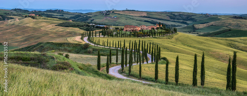 Printed kitchen splashbacks Tuscany Tuscan countryside