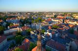 Fototapeta Miasto - View of the Gliwice in Poland
