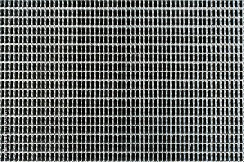 Canvas-taulu stainless steel grate, metal grille, metal grid