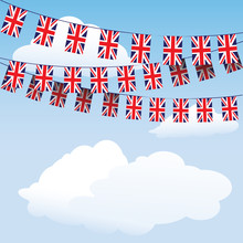 Union Jack Bunting Flags