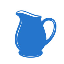 Milk Jug Or Pitcher Logo