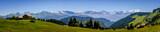 Panorama et Mont Blanc