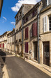 Cognac, France. Ancient buildings in the old town