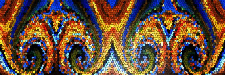 Fototapeta Witraże świeckie Abstract pattern