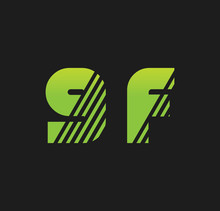 9f Initial Green With Strip
