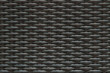 Closeup surface wood pattern at black painted wood weave chair texture background