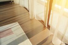 Sunrise Through Transparent Cu...