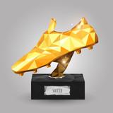 Fototapeta Sport - golden boot trophy